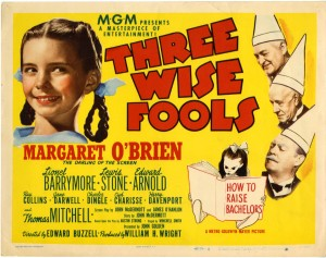 Three Wise Fools Movie Poster Photo
